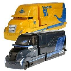Модели автомобилей Литые Disney Pixar «Тачки 2 3», Молния Маккуин, Джексон шторм, Мак, дядюшка, 1:55, подарок на день рождения для мальчиков