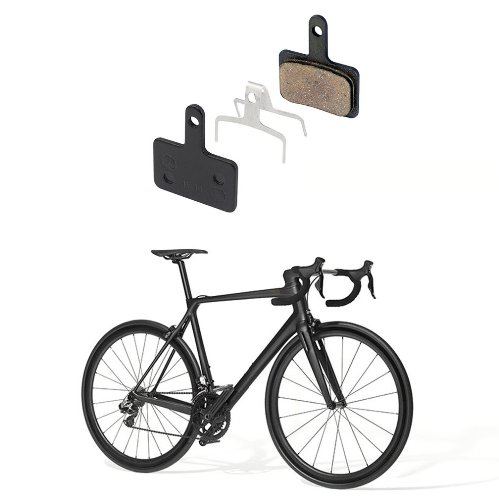 1pc Bicycle Resin Disc Brake Pads For Shimano M525 M535 C601 For tektro Orion