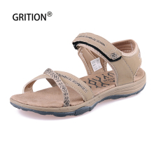 Women Sandals Slippers Shoes GRITION Outdoor Walking Summer Female Fashion High-Quality