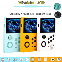 whatsko A19 Android video game machine built in 3000+ game 3D game WiFi can connect more than 3 mini handles at the same time