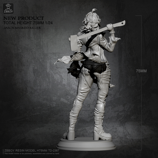 Jason Masked Killer 75mm.