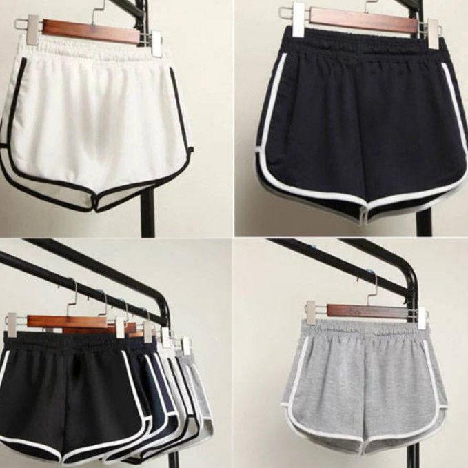 Women Summer Shorts Split Elastic Waist Short Loose European Style Beach Sexy Home Short Women's Fitness Shorts 5XL Plus SIZE