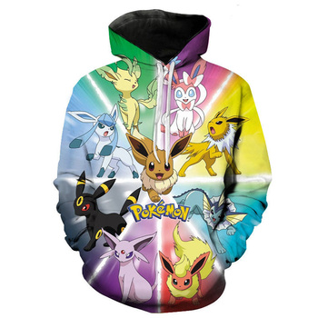 2020 Fall Winter Games Pokemon Men Women Hoodie Long Sleeve 3d Printed Sweatshirt Kids Fashion Casual Cool Pullover Coat 1