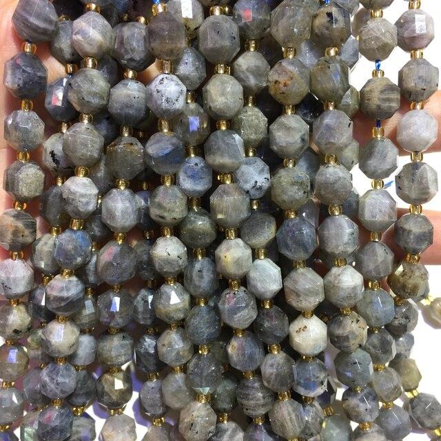Фото натуральный камень лабрадорит самородок свободные бусины целебные