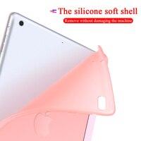 soft tpu Case for iPad mini 4 5 7.9 inch PU leather case cover For iPad mini 4 5 7.9 inch TPU Silicone Atomized Soft Bottom Tablet Case (5)