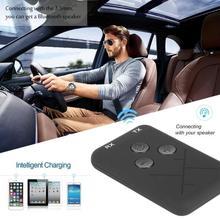 2 In 1 Bluetooth Receiver Car Bluetooth AUX 3.5mm Music Blue