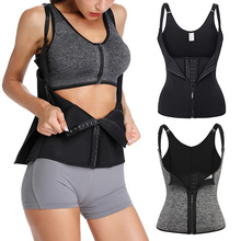Women Neoprene Shaper Waist Trainer Underbust Corset Cincher Shapewear Bodysuit Tummy Slimming Underwear