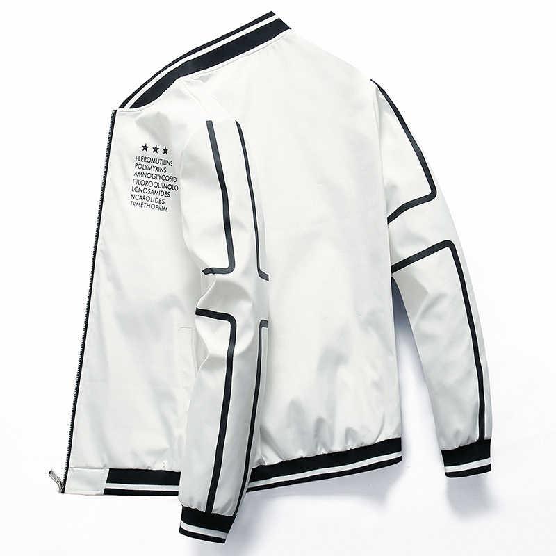 Nueva chaqueta con cremallera para hombre, chaqueta de marca para hombre, chaqueta casual para hombre, abrigo estampado de calidad, ropa de abrigo para hombre, negro para hombre, 0625