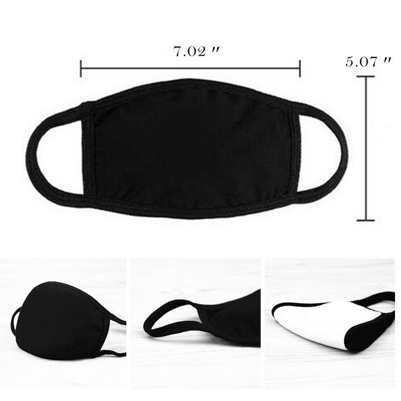 Unisex Adjustable Cotton Mouth Muffle Bamboo Fiber Anti Pollution Allergy Mouth Mask Dust Respirator Washable Reusable Masks