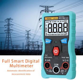 Cyfrowy multimetr DC AC woltomierz miernik prądu miernik z diodą Test ciągłości automatyczny wielofunkcyjny Anti-Burn BV tanie i dobre opinie centechia CN (pochodzenie) Digital multimeter
