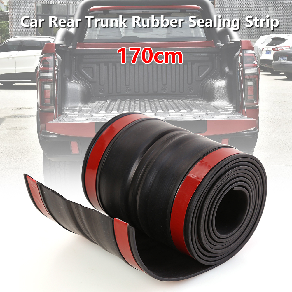 170x11cm Durable Rubber Truck Bed Tailgate Gap Cover Practical Multi Functional Classic Filler Seal Cap For Pickup Truck Car Stickers Aliexpress