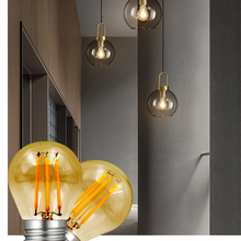 Bulbs Lighting-Lamp Industrial-Chandelier Vintage Led 8W 6W E27 Style110v 220V Filament