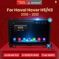 Автомобильный радиоприемник Junsun V1 Android 10 AI с голосовым управлением, мультимедийный плеер Carplay, GPS для Haval Hover Great Wall H5 H3 2011-2016, 2din, DVD