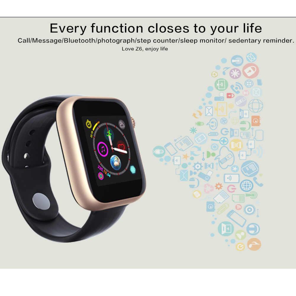 SYSOTORYU montre intelligente Support carte SIM TF carte Smartwatch caméra Bluetooth horloge appel Message pour Apple Android montre hommes femmes