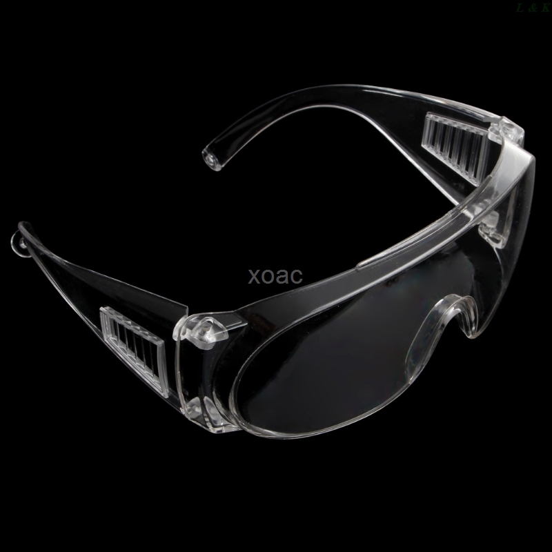 Clear Vented Safety Goggles Eye Protection Protective Lab Anti Fog Glasses   M09 Dropship