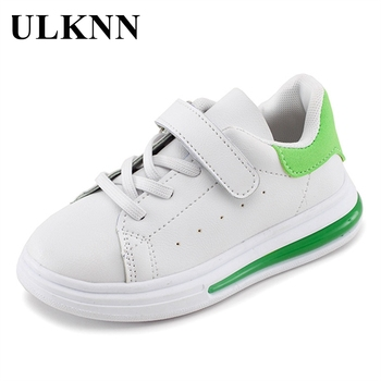 Leather children/'s shoes white shoes sneakers student casual shoes