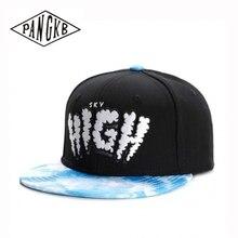 PANGKB Brand SKY HIGH CAP blue adult outdoor casual sun baseball cap men women hip hop sports basketball snapback hat
