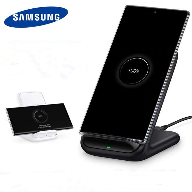 Samsung S20 Wireless Charger Official original Note10 Tenth Generation Wireless Charger S10 Vertical 15W Fast Charge EP-N5200
