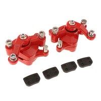2 stück Disc Bremssättel für Pocket Bike  Mini Dirt ATV  Roller  Go-Kart