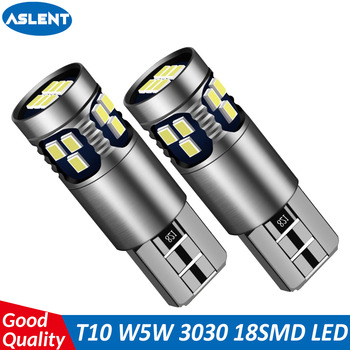 t10 w5w silicone case cob led car wedge interior light wy5w 194 501 auto parking trunk bulbs turn side lamps canbus error free ASLENT T10 W5W Super Bright LED Auto Wedge Parking Bulbs Canbus No Error Interior Reading Dome Lamp WY5W Car Turn Side Light 12v