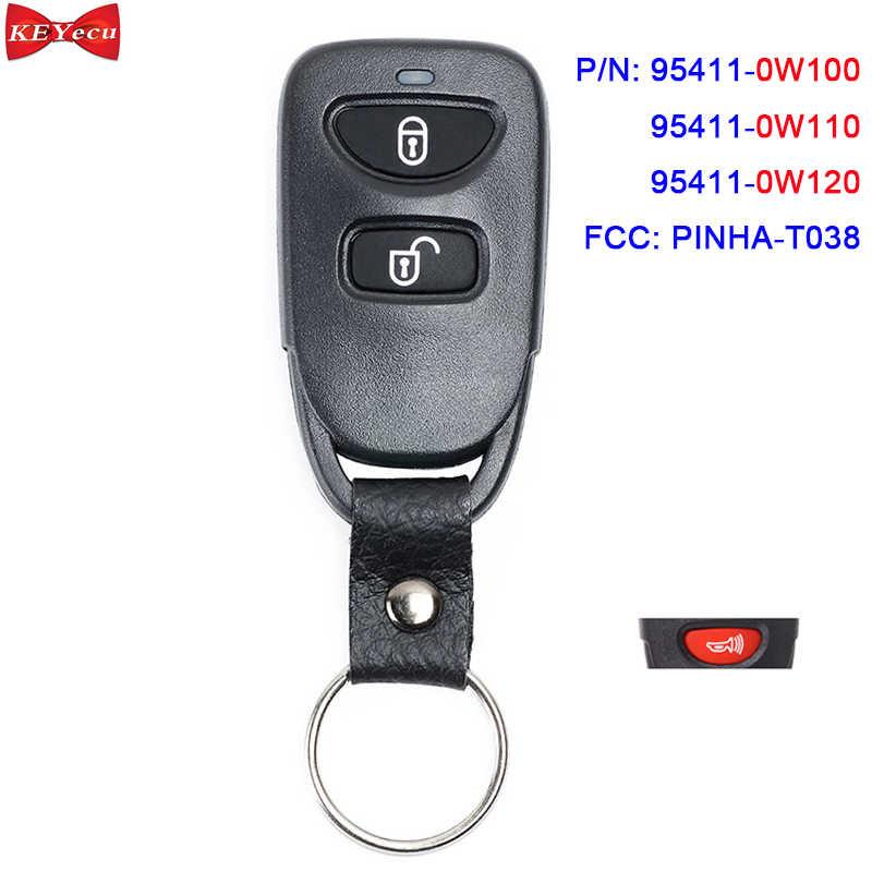 Remote Entry Keyless Key Fob transmitter OEM Parts For 2005-2008 Tucson