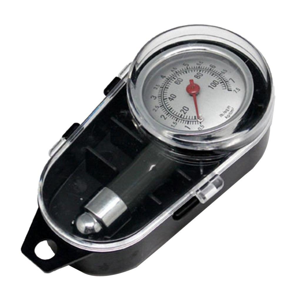 High-Precision Tire Pressure Gauge Car Tire Pressure Monitoring Metal Car Tire Tire Pressure Gauge Car Tire Pressure Gauge