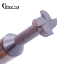 Tungsten steel Whole Alloy Milling cutters T Slot Mill Cutter Machining Hard Aluminum Copper Wood Special Groove Type Cutters