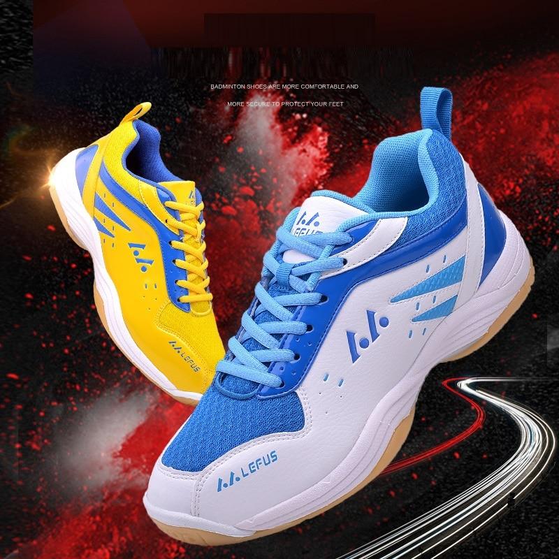 Men's Light Lace-up Tennis Shoes for Men Training Breathable Anti-Slippery Tennis Sneaker Sport Badminton Shoes Large Size 36-46