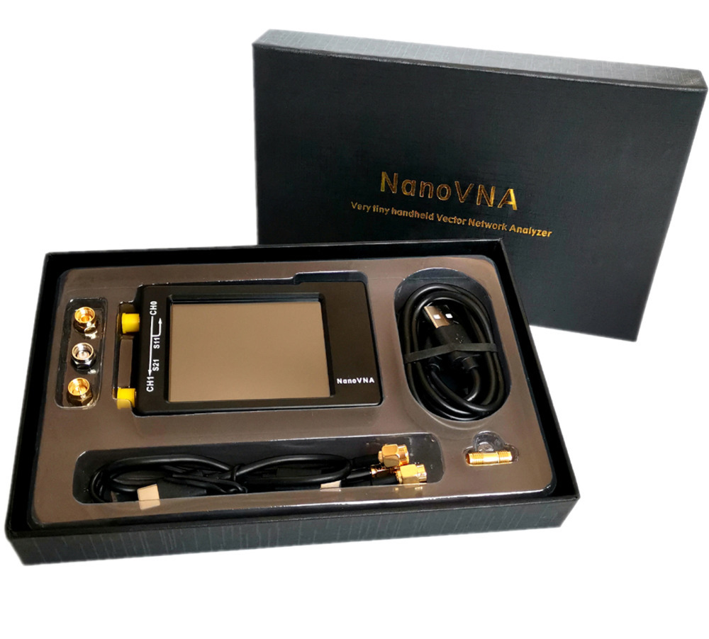Новинка 2020, NanoVNA-H 50 кГц ~ 1,5 ГГц, Векторный анализатор сети, антенный анализатор LCDHF VHF UHF UV