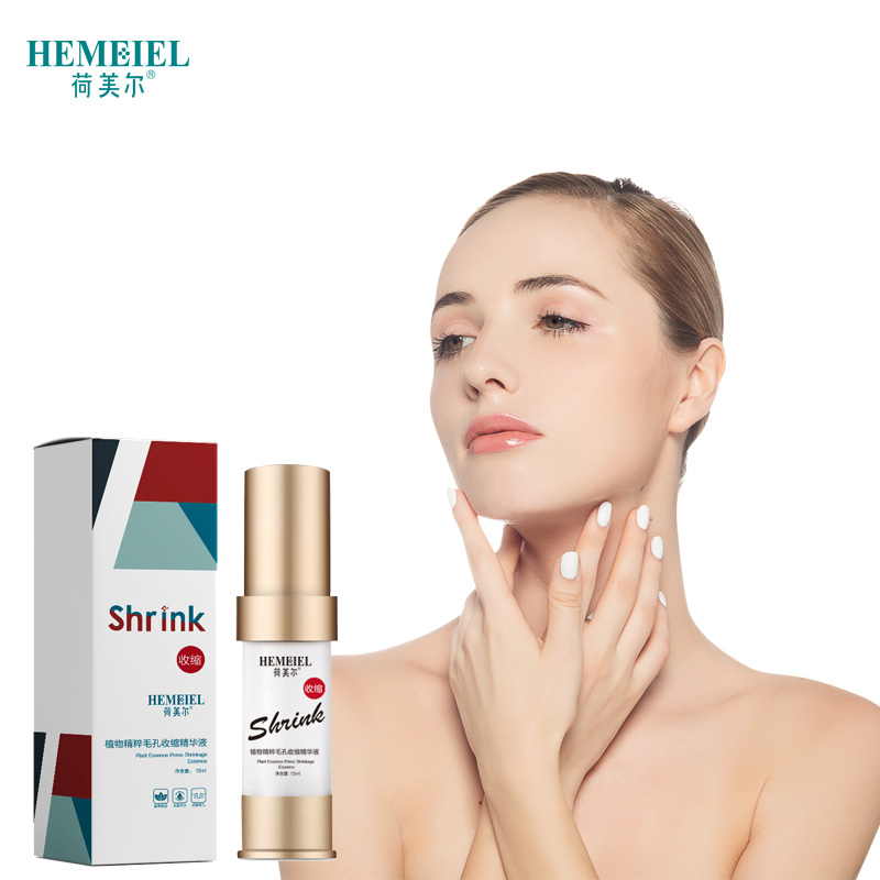HEMEIEL Shrink Pores Serum Essence Whitening Oil Control Serum Large Pores Treatment Korean Skin Care Anti Wrinkle Moisturizer