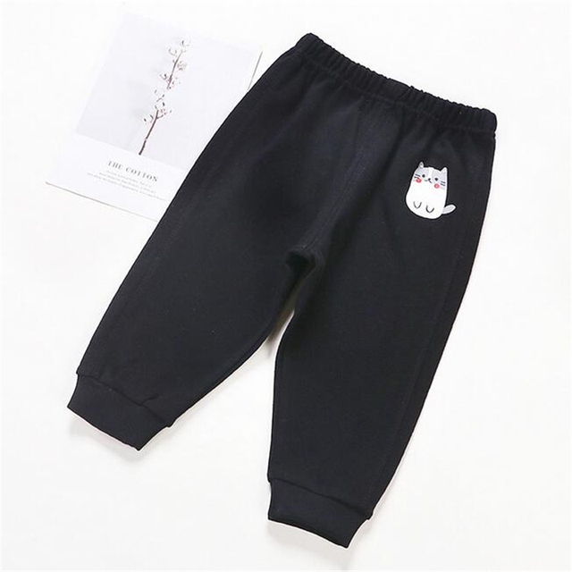 Baby's Cotton Pants with Elastic Waist 3