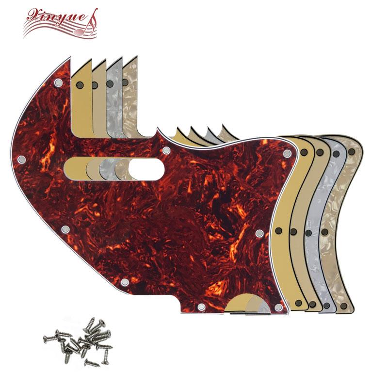 Pleroo Guitar Parts For 9 hole screws US Tele Merle Haggard f hole Thinline Guitar Pickguard