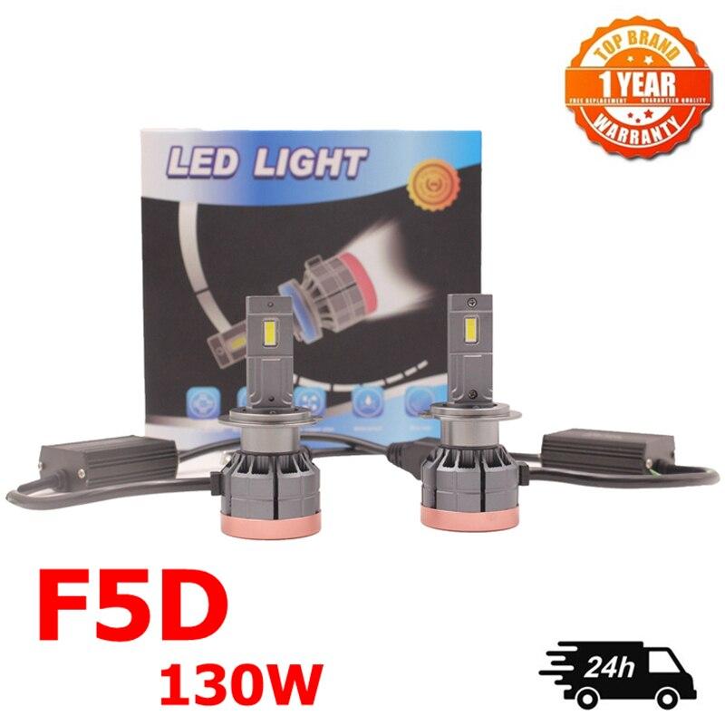 130 Вт F5D H7 H4 9005 9007 H11 h13 светодиодный светильник s лампа противотуманный светильник H11 H8 9005 9006 Автомобильный светодиодный налобный фонарь h4 све...