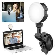 Lamp Led Selfie Licht Fotografie Verlichting 2500K-6500K Laptop Licht Voor Youtube Mobiele Telefoon Video Live Streaming make-Up Verlichting