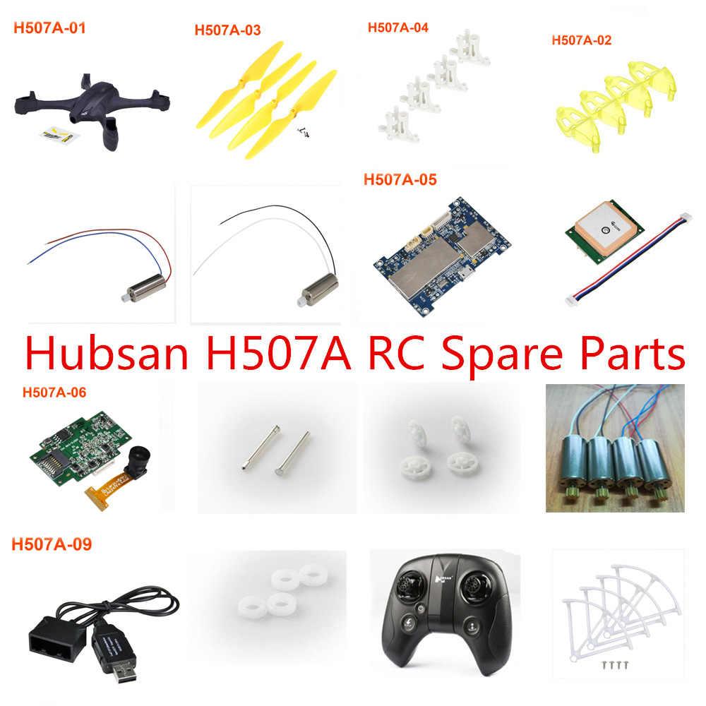 Hubsan H507A X4 Ster Pro RC drone Onderdelen motor blade motor seat as Flight control board body shell gear lader GPS etc