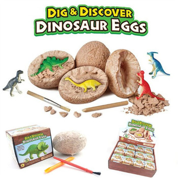 Novelty gadget jurassic period Dig discover dinosaur eggs engage in archaeological studies dino fossil kids education toy - discount item  15% OFF Novelty & Gag Toys