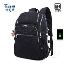 Водонепроницаемый Школьный рюкзак для девочек подростков оригинальный