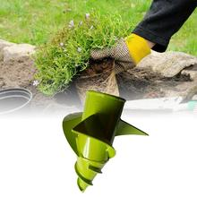 Tobacco Drill Bit Mower Drilling Hole Ground Cultivation Tool Vegetable Garden Planter Accessory Home 20x20cm Replacement Iron