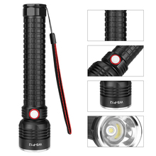 COB LED Flashlight Super Bright Handheld Flashlights Torch Pocket USB charging Work Light for Emergency Lighting camping цена