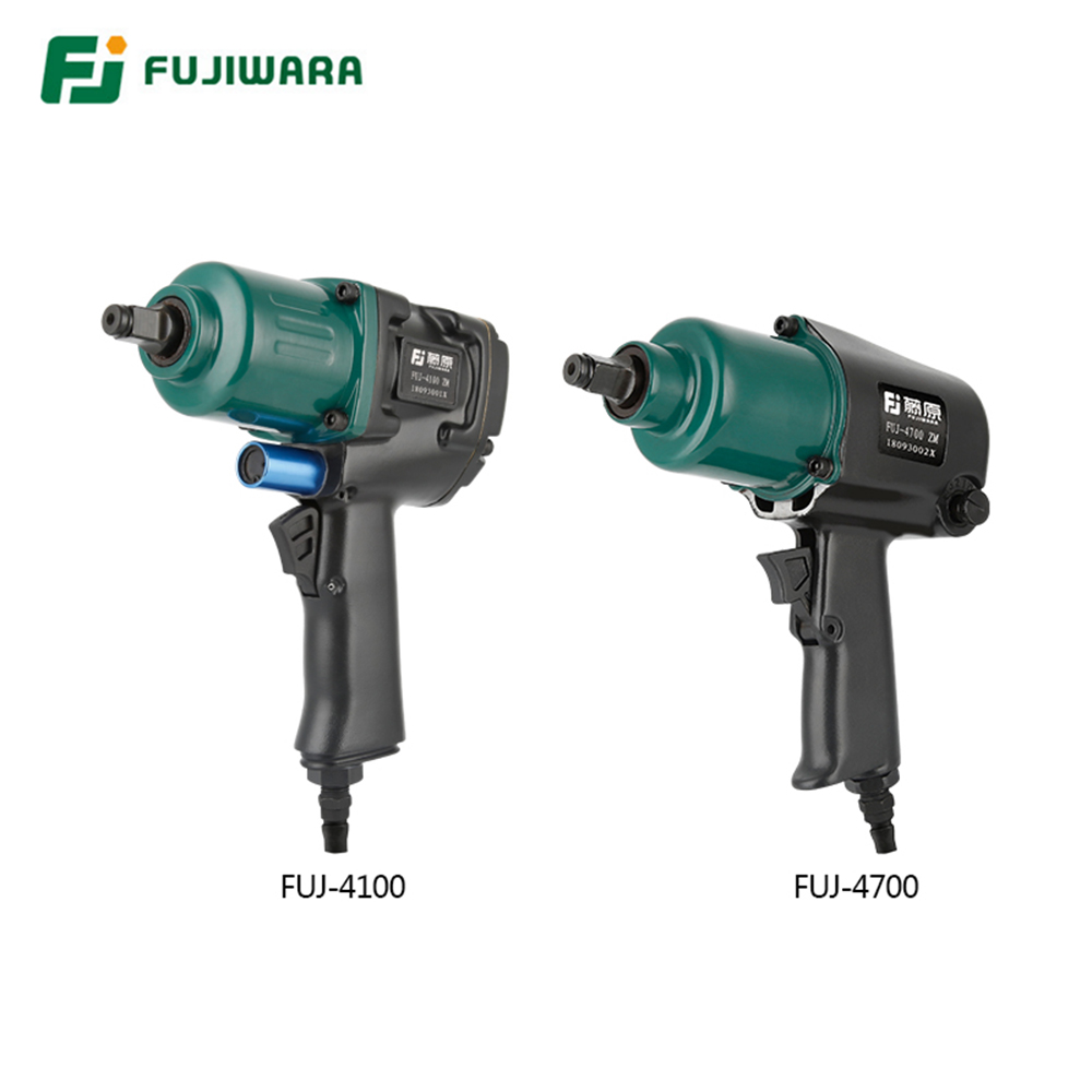 FUJWARA Pneumatic Wrench Industrial Grade 900N.M 1/2 Inch Air Impact Spanner Auto Repair Silencer High Torque Tire Removal