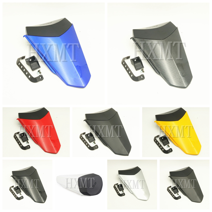 For Yamaha YZF600 R6 2017 2018 2019 YZF R6 blue Motorcycle Pillion Rear Seat Cover Cowl Solo Seat Cowl Rear Fairing
