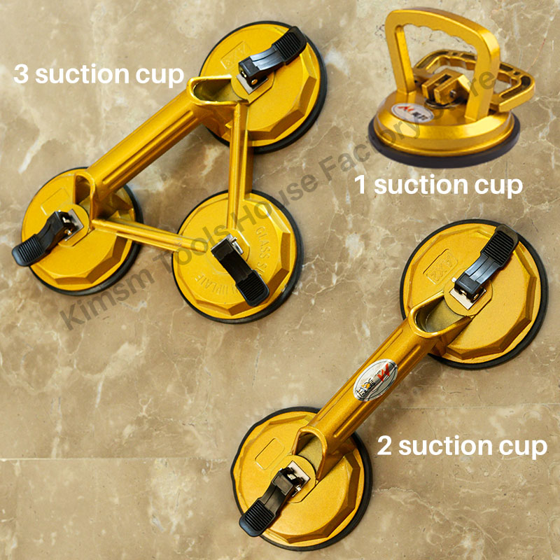 Vacuum Suction Cup Grip Sucker Plate Single Claw Double-claw Three -jaw Suction Puller For Tile Glass Floor Sucker Lifting Tool