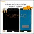 Affichage pour Samsung Galaxy J5 2016 J510 écran LCD écran tactile J510FN J510F J510M J510H /DS écran ajuster la luminosité
