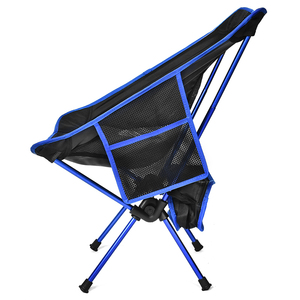 Image 3 - ירח כיסא כיס נייד מתקפל דיג קמפינג מתקפל הליכה ממושכת מושב גן Ultralight משרד בית ריהוט