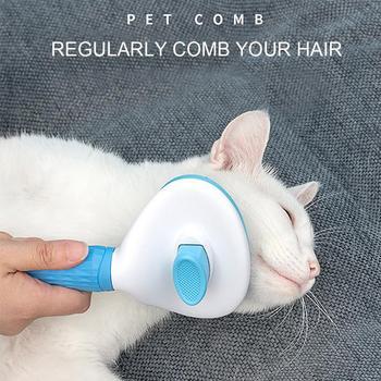 Gatos domésticos perros cabello peines y cepillos aseo peine para pulgas para perros de peaje automático cepillo de pelo Trimmer removedor de pelo