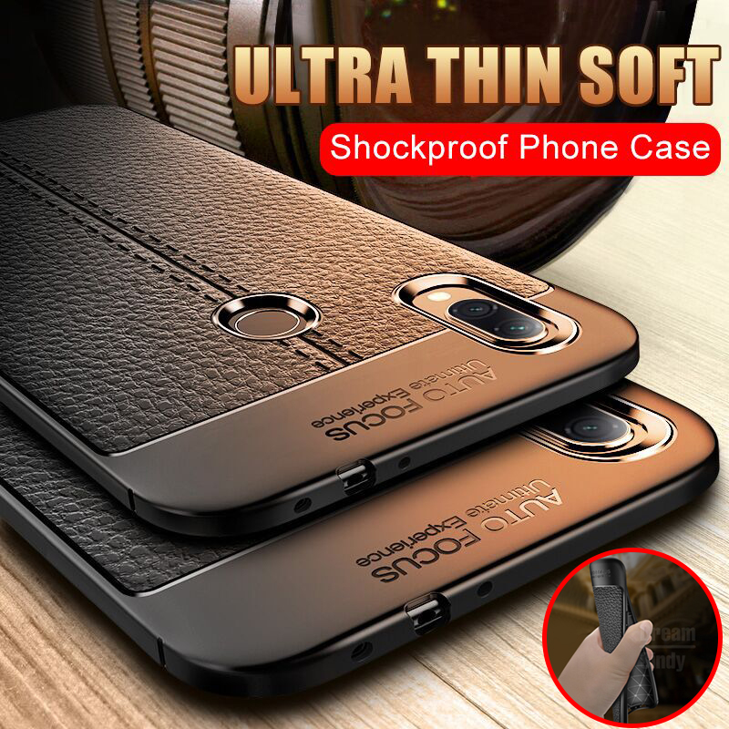 Luxury Ultra Thin Leather Case On The For Xiaomi Redmi 7 Note 7 6 5 Pro Shockproof Case For Xiaomi Redmi 4X 5A Phone Case Cover