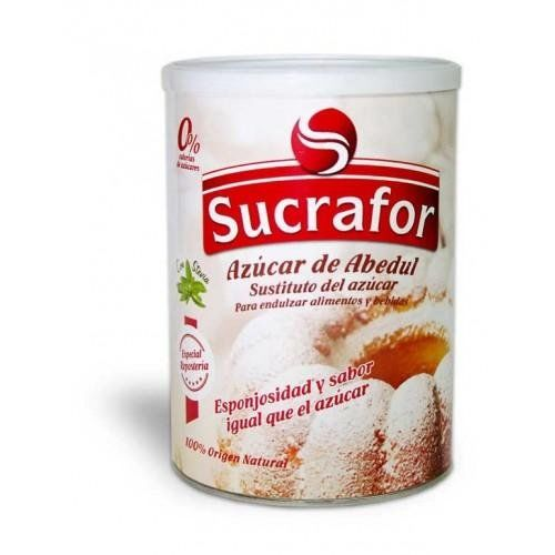 Sucrafor Sugar Abedúl With Stevia Organic 60 Envelopes Size 5 G