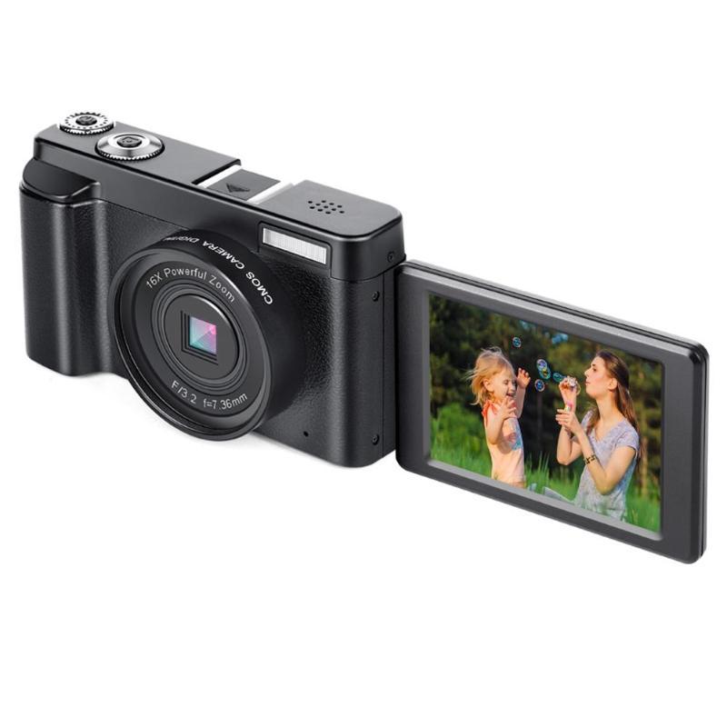 P11 цифровая камера с откидным экраном, беспроводная, Wi Fi, Full HD 1080 P, 24MP, 16X зум, цифровая камера, видео рекордер, высокое качество - 3