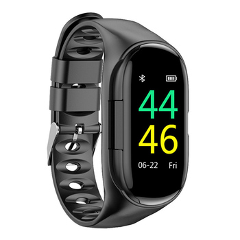 2-in-1 Smart Watch with Earbuds Bluetooth Headphone Wristband Portable for Sport SP99