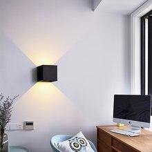 Светодиодная настенная лампа 12 Вт водонепроницаемое регулируемое